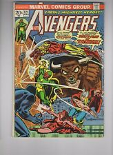 AVENGERS #121, Zodiac, Mantis, Swordsman (VG-4.0)