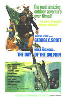 DAY OF THE DOLPHIN MOVIE POSTER 27X41 Folded  GEORGE C. SCOTT 2 DIFFERENT STYLES