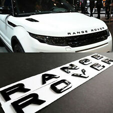FOR RANGE ROVER Gloss Black Letters Hood Trunk Tailgate Emblem Badge Nameplate