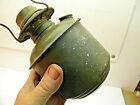 Vintage Eagle Railroad Caboose Oil Lantern; Round Bottom; Early Oregon History
