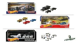 1:64 Hot Wheels Diorama Set - Nissan Skyline, Going to races, Black Hole Gassers