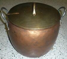 Pota de cobre y laton