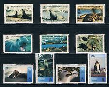 South Georgia & S. Sandwich Is. 1991 Elephant Seals 1994 Freezer **/MNH SG203-50