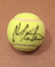 MARTINA NAVRATILOVA SIGNED AUTOGRAPHED TENNIS BALL LEGEND ICON BECKETT BAS
