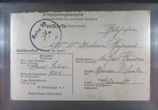 Camp Stalag VA Ludwigsburg 1944 POW Prisoner Belgium Kriegsgefangenenpost K54b