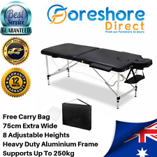 Portable Massage Table Folding Bed Set Therapy Waxing Mobile Beauty Salon
