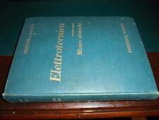 Olivieri – Ravelli ; ELETTROTECNICA vol. 3°: Misure elettriche ; Cedam 1966