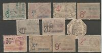 FRANCE col revenue cinderella fiscal collection stamp ml146 as seen