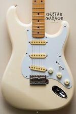 1989 Fender Japan Stratocaster Olympic White Maple neck guitar - MIJ - original
