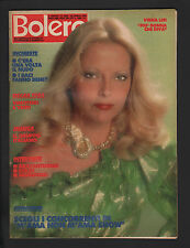 BOLERO 1929/1984 VIRNA LISI IVANO CALCAGNO IL GRUPPO ITALIANO DISNEY PAPERINO