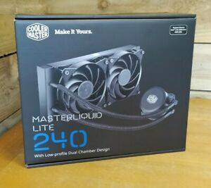 Cooler Master Masterliquid Lite 240 - Intel AMD processor Fans Cooling System