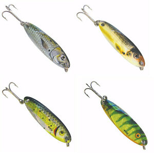 Lindy quiver spoons 2 colors free shipping jigging nip