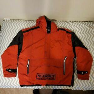Marc Buchanan Pelle Pelle Jacket 2XL Red and Black