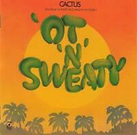 CACTUS - 'OT' 'N' SWEATY CD Japan Edition Jewel Case+ 8 p.booklet+GIFT VERY RARE