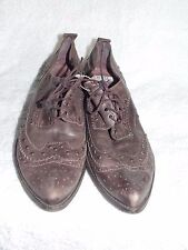 Bata Brown Boot Style Shoes Lace Up Sz 40 For Women Used