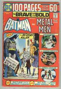 Brave and the Bold #113 July 1974 VG 100PG GIANT, Metal Men