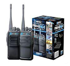 MITEX PMR446 XTREME TWIN PACK UHF LICENSE FREE HANDHELD TWO WAY RADIO