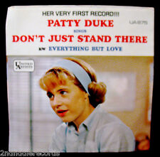 PATTY DUKE-Don't Just Stand There-Picture Sleeve-UNITED ARTISTS #UA875