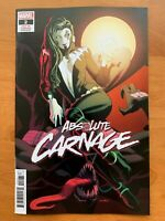 ABSOLUTE CARNAGE #2 1:25 Anka Cult Of Carnage Variant Marvel 2019 NM
