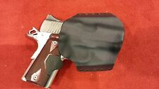 HOLSTER BLACK KYDEX FITS Kimber Crimson Ultra Carry II OWB Outside Waistband