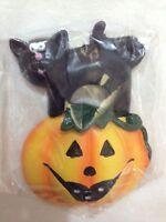 Souvenir Fridge Magnet Halloween with Black Cat - Brand New