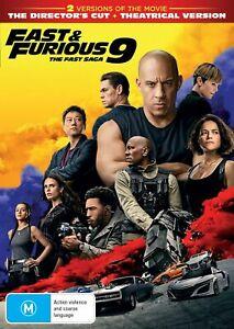 Fast Furious 9 The Fast Saga DVD Region 4 NEW