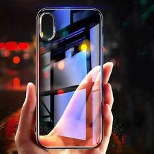 HANDY HÜLLE  PANZER GLAS FOLIE für iPhone X Hülle Case Handy Cover Zubehöre