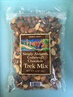 1, 2 or 4 Bags-Trader Joe's Trail Mix - Almonds, Cashews & Chocolate -Free Ship!