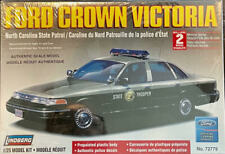 Lindberg Ford Crown Vic Nc State Trooper Police Car Model Kit 1/25 â­�New Sealedâ­�