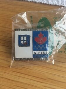 Canadian NOC Athens 2004 pins