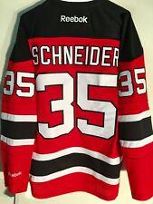 Reebok Premier NHL Jersey New Jersey Devils Cory Schneider Red sz L