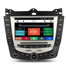 "8"" Car DVD Player GPS Stereo Radio Navigation For Honda Accord 7th Free Camera"