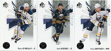 16/17 SP AUTHENTIC TEAM SET - BUFFALO SABRES