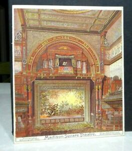 1883 Madison Square Theatre New York Program Playbill May Blossom