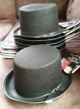 Gangster Derby Grey Gray 20s Ghostly Ghost Hat Adult Costume Accessory NEW