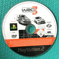 WRC 3 FIA WORLD RALLY CHAMPIONSHIP PS2 - Playstation 2 -DISC ONLY