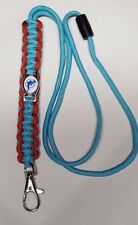 "Miami Dolphins Throwback 20"" Paracord Lanyard w/ Breakaway String Neck Loop #2"