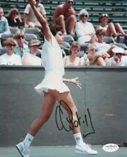 GABRIELA SABATINI WOMENS TENNIS STAR SIGNED AUTOGRAPHED 8X10 PHOTO JSA SOA
