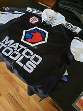 Matco Tools Antron Brown Drag Racer Jersey Shirt NHRA SIGNED exclusive distrib