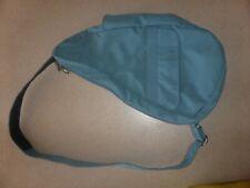 "Ameribag 16"" Healthy Back Bag Hobo Satchel Blue Nylon Backpack"