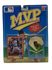 1990 Robin Yount M.V.P. Collector Pin and Card Brewers MLB Ace Novelty Co