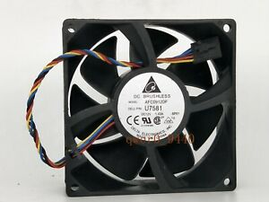 1Pcs Delta AFC0912DF 12V 1.43A 9032 90*90*32MM Dell Server Cooling Fan 4-wire