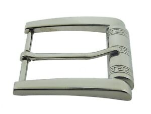 """Silver Pin Belt Buckle for 1 1/2"""" Inches Wide Belt High Quality New Chrome Style"""