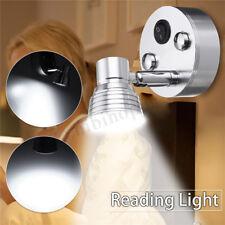 LED Wall Mount Light Swivel Sconce Bedside Bedroom Reading Boat RV Lamp Fixture