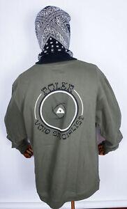 Poler Stuff Crewneck Crew Sweatshirt Sweat Pullover Void Specialist Olive in L