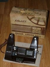 Vintage Kalart Editor Viewer Eight Model EV-8 Movie Editor Viewer
