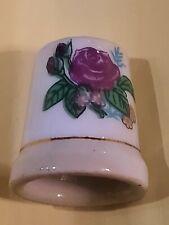 Dé à coudre de collection   fleurs ROSE  modèle 2    A3