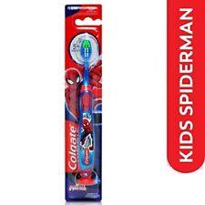 4x Colgate Spider man Toothbrush extra soft  5+ years kids soft bristles AU