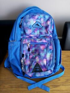 High Sierra Light Blue/Multicoloured Backpack Very Small Amount Of Wear