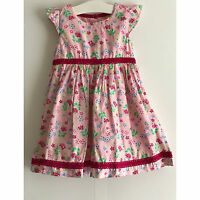 PUMPKIN PATCH BABY-GIRL DITTY FLORAL SHORT SLEEVE DRESS - Size UK12-18MONTHS